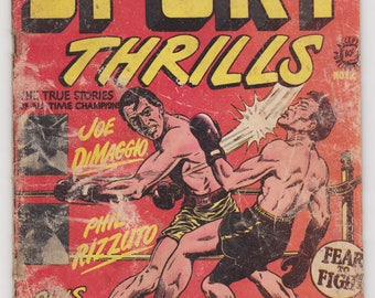 Sport Thrills Comic book - Issue #12