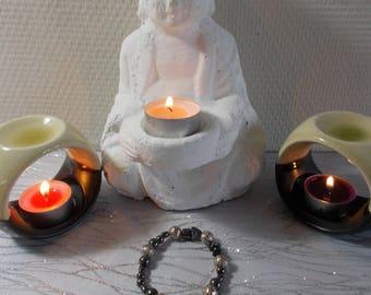 "Bracelet stones natural ""Hematite"" (introductory offer)"