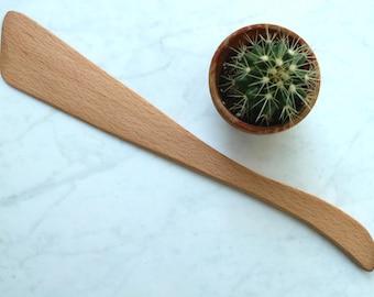 Flat Wood Spatula