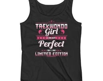Taekwondo Girl Ladies' Tank