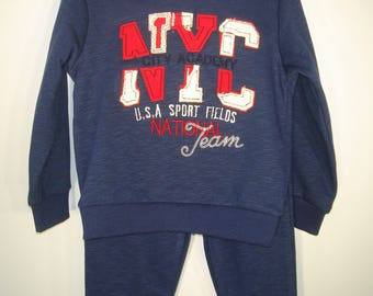 Sportsuit, Child sport suit, boys sportsuit, Sweatshirt