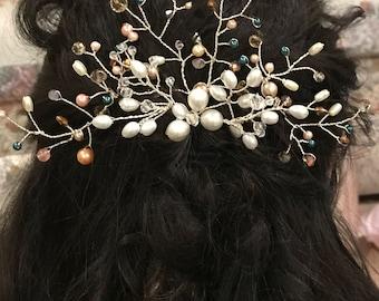 Wedding hair piece set
