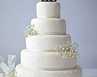 Funny Gay Men Wedding Cake Topper