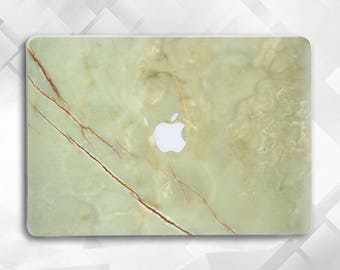 Green Marble Macbook Pro Case Macbook Hard Case, Macbook Air case Macbook Air 11 case Macbook Air 13 Macbook Pro 15 Macbook 12 Stone case