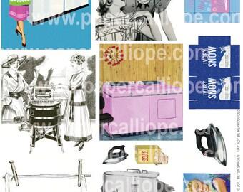 PaperCalliope - Vintage Laundry #2
