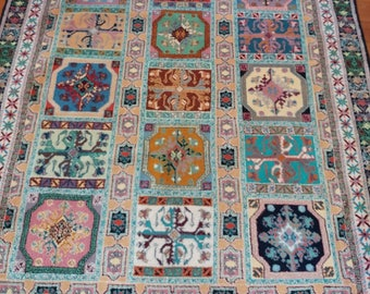 Hand knotted Moroccan Rug  247cm x 182cm