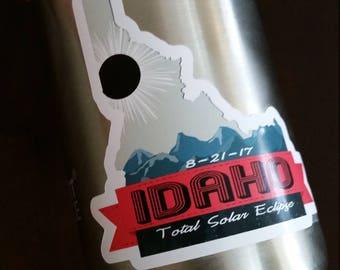 Idaho 2017 Eclipse Sticker