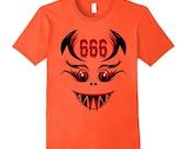 Devil 666 Tattoo Shirt Sa...