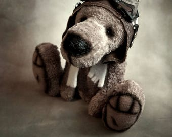 collection Filia, teddy bear for collection, artist Teddy bear OOAK Teddy bear, bear plush for collection, art doll