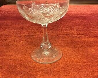 Baccarat Vintage  champagne/dessert glass