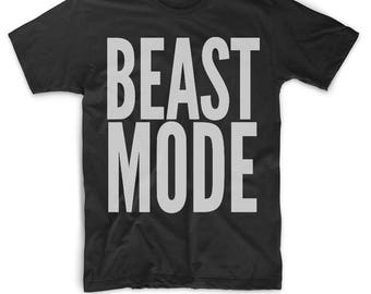 Beastmode Shirt - Beast Mode T Shirt - #beastmode Shirts - Beastmode Gifts - Workout Shirt - Fitness Shirt - Crossfit Shirt - Fitness Gifts