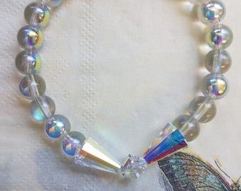 Iridescent Rainbow Bracelet
