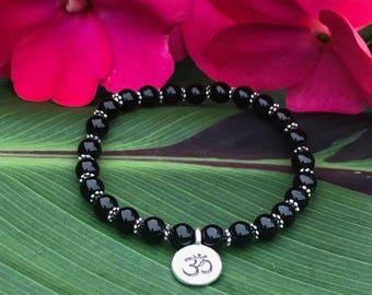 """Divinity"" onyx bracelet"