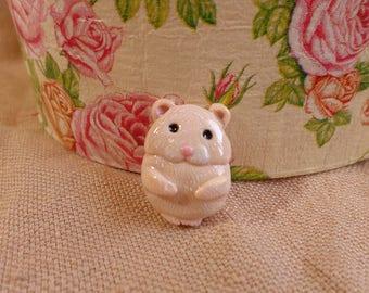 Hamster Portrait, Hammie portrait, Cute Hamster Portrait, Hamster Jewelry, Cute Hamster, Custom Pet Hamster, Pet Hamster Jewelry, Pet Hammie