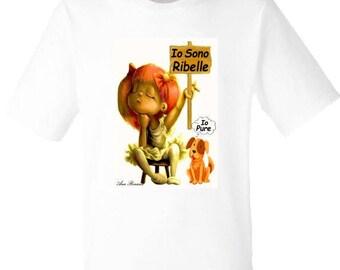 T-shirt for men and women I am rebellious