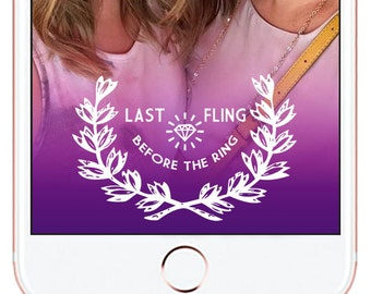 Bachelorette Party Snapchat Geofilter *for immediate download - not personalized* #7