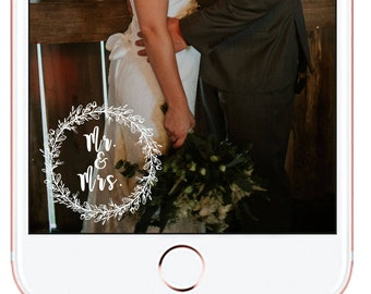 Wedding Snapchat Geofilter *for immediate download - not personalized* #8