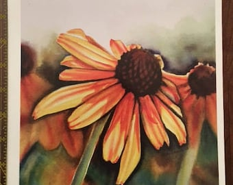 Flower Sticker (Emily Lagore Watercolor)