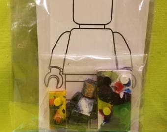 LEGO CRAYONS Kid Party Favors Holiday Gifts Custom Handmade Colors