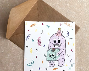 Confetti - Greetings Card - All Occasions