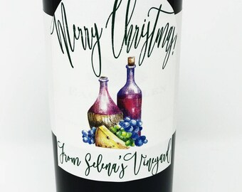 Wine Labels; APRdesignsUSA