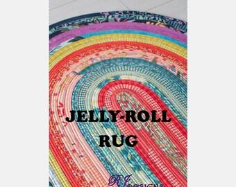 Jelly-Roll Rug Pattern (PDF)