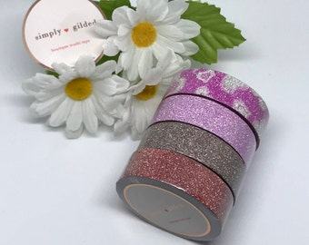 "Simply Gilded Washi, GLITTER!!!!, Limited samples, 24"" samples"