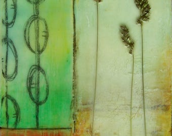SALE~Encaustic Painting Still