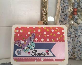 Spoonie Card Handmade