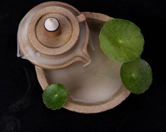 Backflow Incense Burner -- Zen Circle