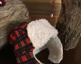 Baby lumberjack hat