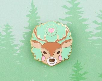 Moss Deer - Forest Elements enamel pin