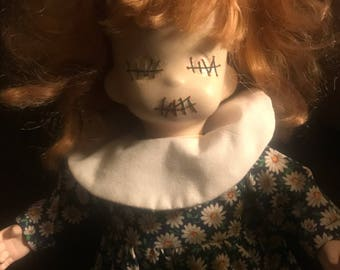 "Horror Doll One of a kind""! ""Iris"""