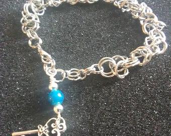 Byzantine Weave Chainmaille Bracelet - Chanmaille Bracelet - Chainmail Bracelet - Chainmail - Byzantine Weave - Fashion Bracelet