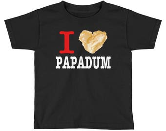 I Love Papadum - Kids T-Shirt