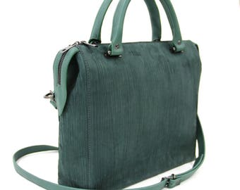 Women's Emerald bag from natural nubuck