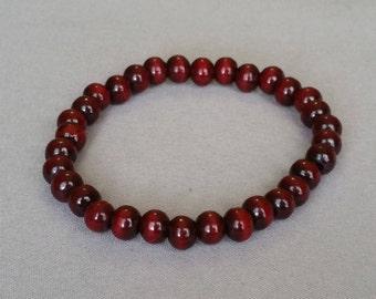 8MM Red Sandalwood Bracelet