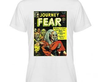 Journey Fear Retro Comic Book Cover Tshirt