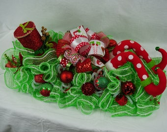 Christmas Elf Centerpiece - Hats Off to You