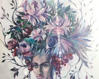 Oil painting. Картина маслом