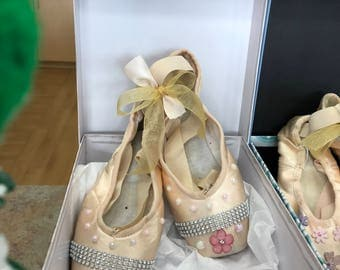Beautiful Ballet Pointe Shoes