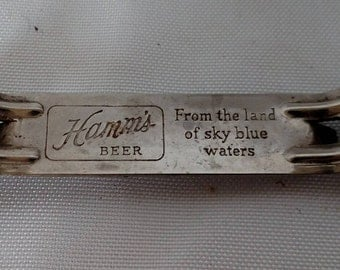 Vintage Hamm's Beer bottle opener