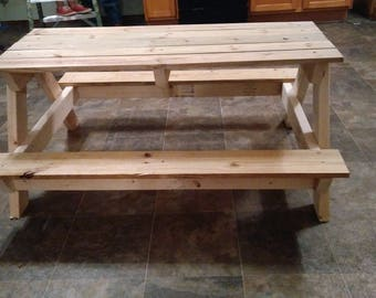 Kidu0027s Picnic Table Kit