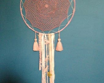 Dream catcher doily and lace