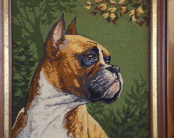 Boxer paintings