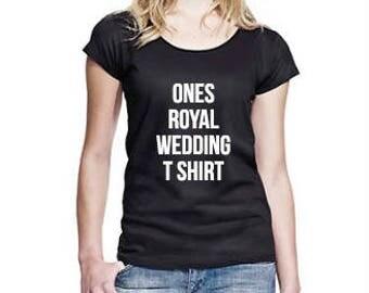 Ones Royal Wedding T-Shirt