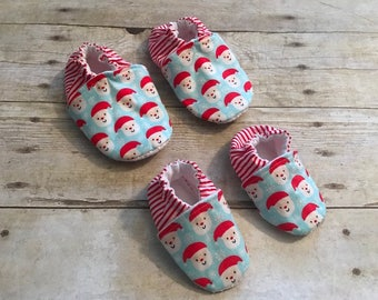 Baby and Toddler Christmas Booties