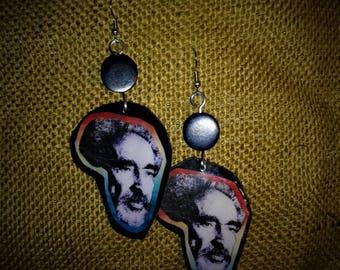 HIM Selassie Africa Earrings