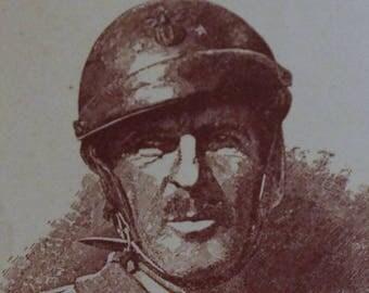 Card commemorative General LECLERC