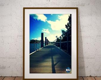 Docks - nature photography, landscape photography